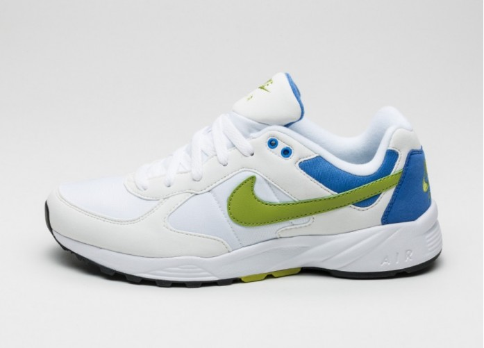 Мужские кроссовки Nike Air Icarus NSW (White / Cactus - Medium Blue - Black) | Интернет-магазин Sole