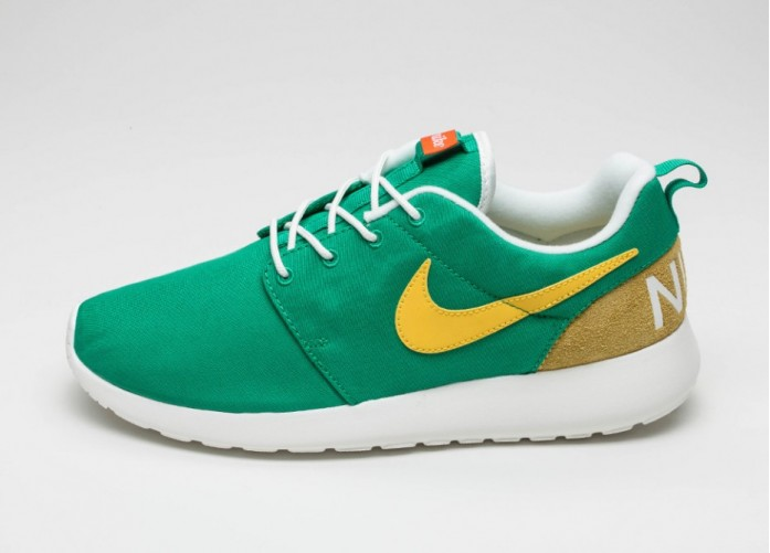 Мужские кроссовки Nike Roshe One Retro (Lucid Green / Vivid Sulfur - Sail) | Интернет-магазин Sole
