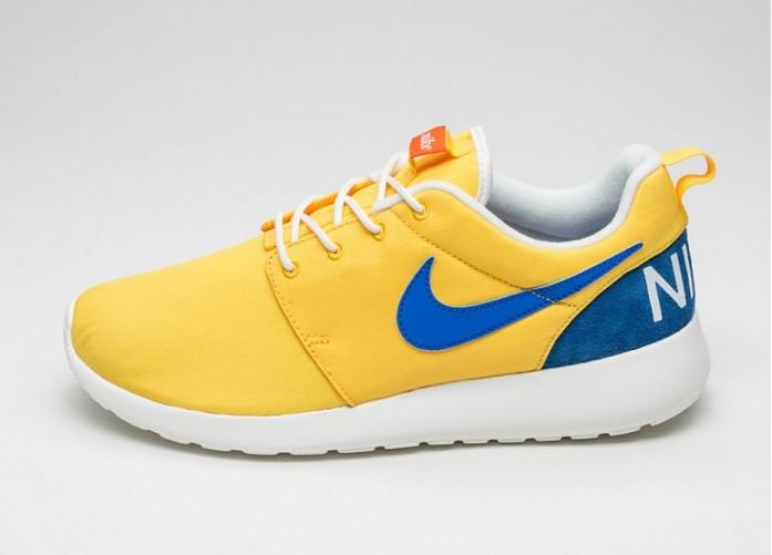 Мужские кроссовки Nike Roshe One Retro (Varsity Maize / Racer Blue - Sail) | Интернет-магазин Sole