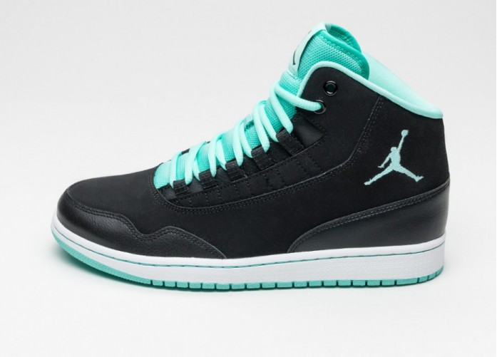 Мужские кроссовки Nike Jordan Executive (Black / Hyper Turquoise - White) | Интернет-магазин Sole