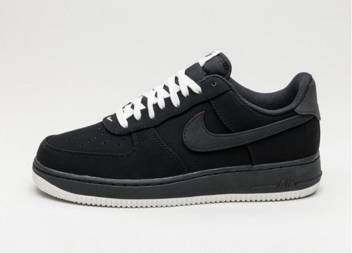 Мужские кроссовки Nike Air Force 1 (Black / Black - Sail) | Интернет-магазин Sole