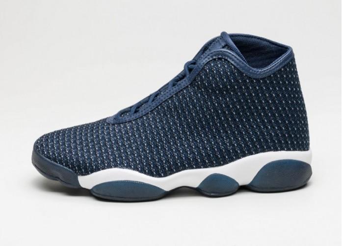 Мужские кроссовки Nike Jordan Horizon (Midnight Navy / White - Infrared 23 - Black) | Интернет-магазин Sole