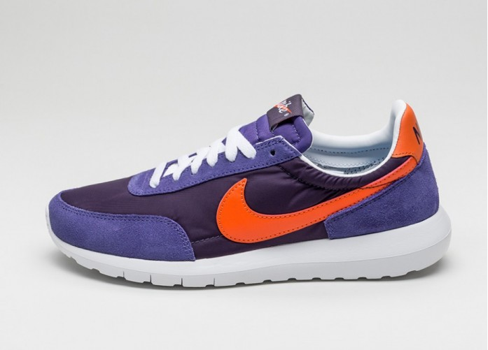 Мужские кроссовки Nike Roshe Daybreak NM (Abyss / Orange Blaze - Varsity Purple - White) | Интернет-магазин Sole