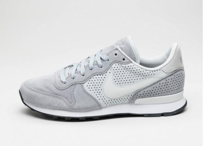 Мужские кроссовки Nike Internationalist LX (Wolf Grey / Off White - Pure Platinum - White) | Интернет-магазин Sole