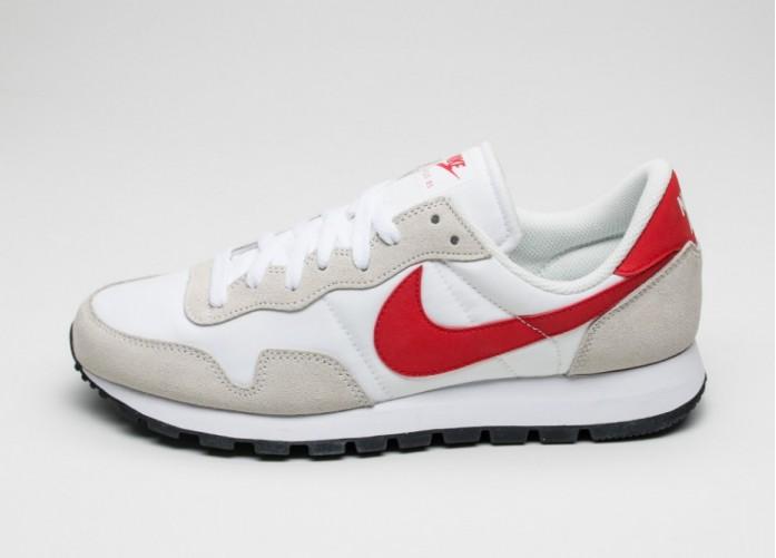 Мужские кроссовки Nike Air Pegasus 83 (White / Chilling Red - Summit White - Black) | Интернет-магазин Sole