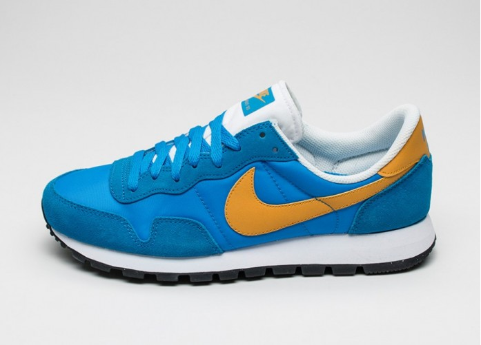 Мужские кроссовки Nike Air Pegasus 83 (Photo Blue / Gold Leaf - White) | Интернет-магазин Sole