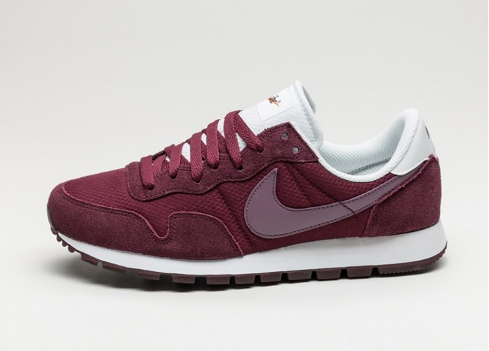 Мужские кроссовки Nike Air Pegasus 83 (Night Maroon / Purple Shade - Off White) | Интернет-магазин Sole