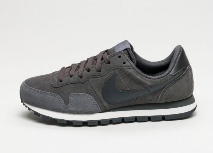 Мужские кроссовки Nike Air Pegasus 83 LTR (Deep Pewter / Anthracite - Dark Grey - Sail) | Интернет-магазин Sole