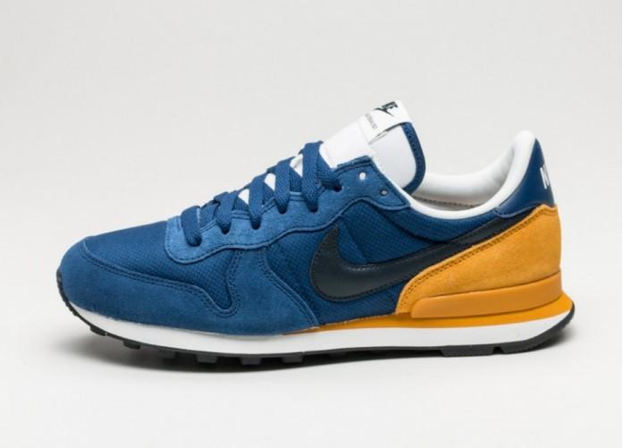 Мужские кроссовки Nike Internationalist (Coastal Blue / Dark Obsidian - Gold Leaf) | Интернет-магазин Sole