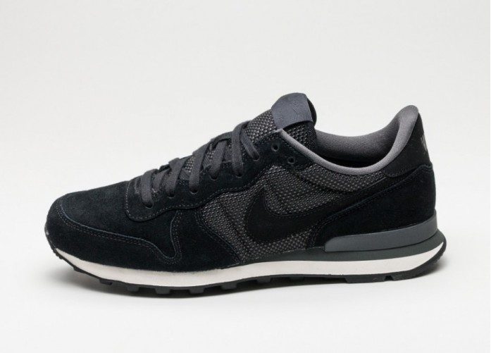 Мужские кроссовки Nike Internationalist PRM (Black / Black - Anthracite - Phantom) | Интернет-магазин Sole