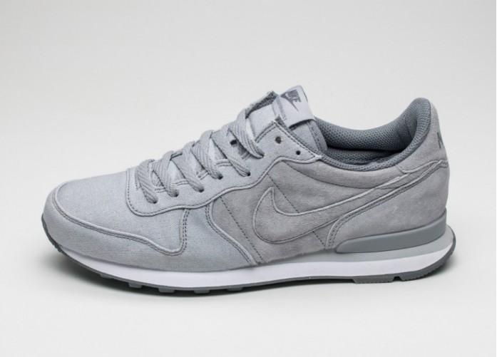 Мужские кроссовки Nike Internationalist PRM (Wolf Grey / Cool Grey - Cool Grey - Pure Platinum) | Интернет-магазин Sole
