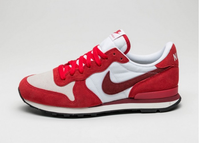 Мужские кроссовки Nike Internationalist PRM (University Red / Team Red - White - Sail) | Интернет-магазин Sole
