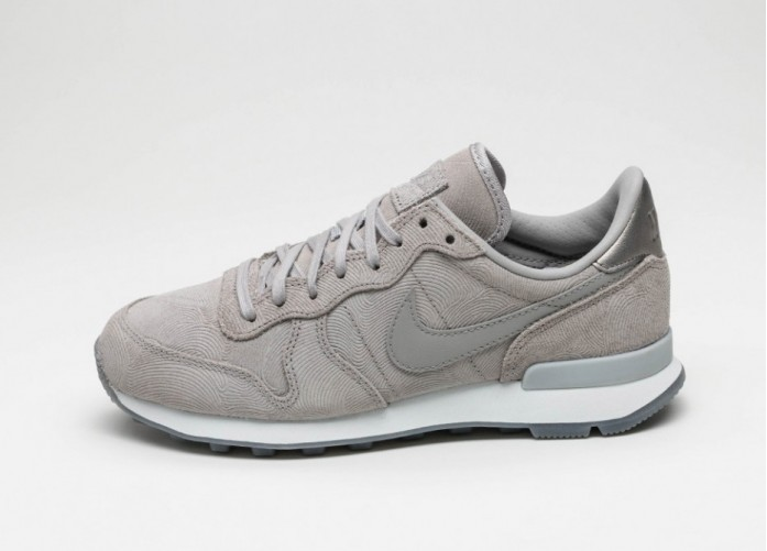 Мужские кроссовки Nike Wmns Internationalist PRM (Medium Grey / Medium Grey - Off White) | Интернет-магазин Sole
