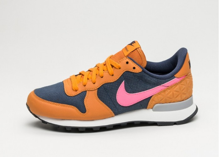 Мужские кроссовки Nike Wmns Internationalist PRM (Obsidian / Digital Pink - Sunset) | Интернет-магазин Sole