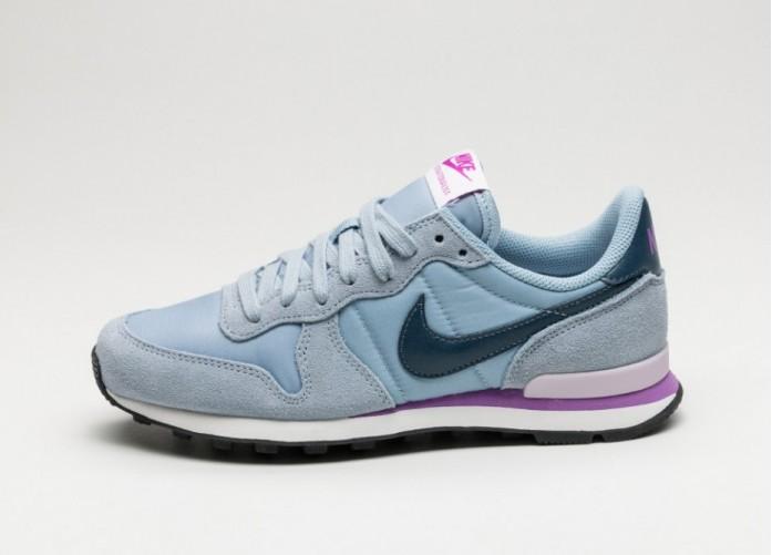 Мужские кроссовки Nike Wmns Internationalist (Blue Grey / Squadron Blue - Summit White) | Интернет-магазин Sole