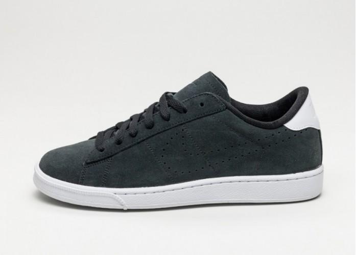 Мужские кроссовки Nike Tennis Classic SC Suede (Black / Black - White) | Интернет-магазин Sole