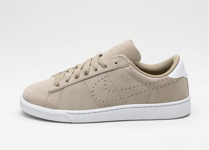 Мужские кроссовки Nike Tennis Classic SC Suede (Khaki / Khaki - White) | Интернет-магазин Sole