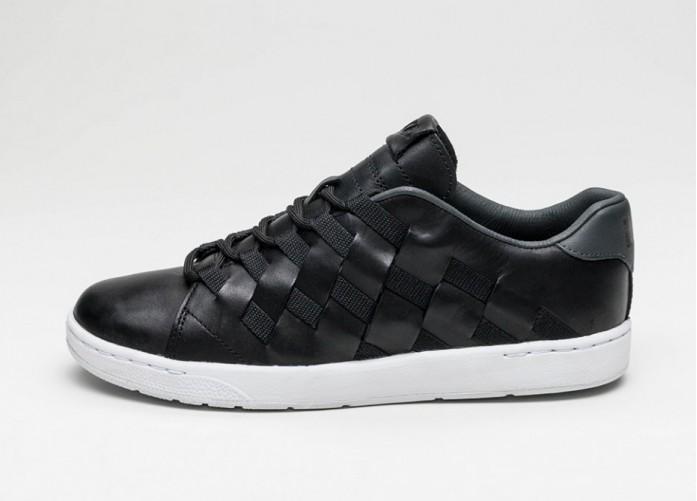 Мужские кроссовки Nike Tennis Classic Ultra PRM QS (Black / Black - Anthracite - White) | Интернет-магазин Sole