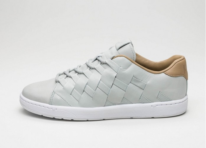 Мужские кроссовки Nike Tennis Classic Ultra PRM QS (Light Silver / Light Silver - Hay - White)   Интернет-магазин Sole