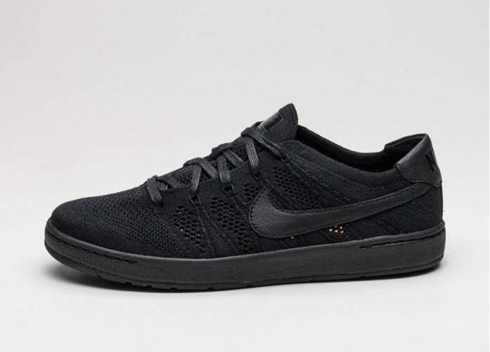 Мужские кроссовки Nike Tennis Classic Ultra Flyknit (Black / Black - Black- Anthracite) | Интернет-магазин Sole