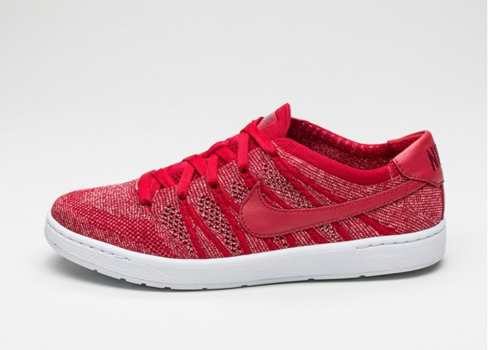 Мужские кроссовки Nike Tennis Classic Ultra Flyknit (Gym Red / Gym Red - Team Red - Sail) | Интернет-магазин Sole