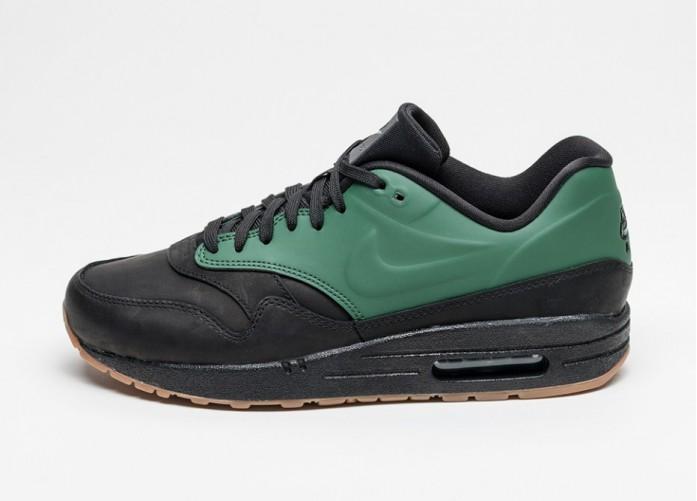 Мужские кроссовки Nike Air Max 1 VT QS (Gorge Green / Gorge Green - Black) | Интернет-магазин Sole