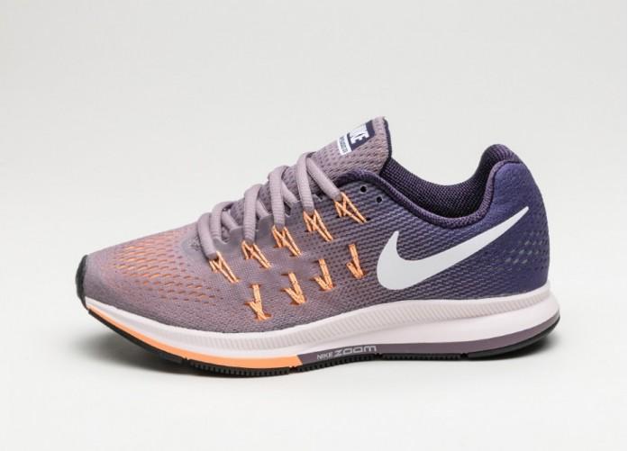 Мужские кроссовки Nike Wmns Air Zoom Pegasus 33 Flyknit (Purple Smoke / White -Purple Dynasty) | Интернет-магазин Sole