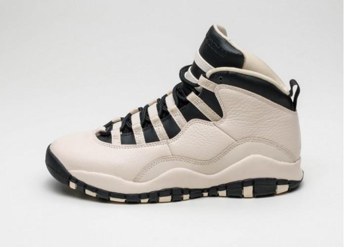 Мужские кроссовки Nike Air Jordan 10 Retro Prem GG *Pearl* (Pearl White / Black - Black) | Интернет-магазин Sole