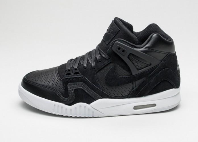 Мужские кроссовки Nike Air Tech Challenge II LSR (Black / Black - White) | Интернет-магазин Sole