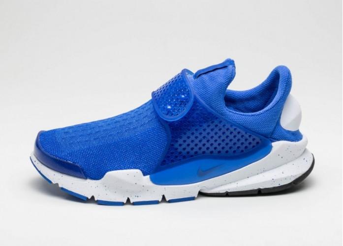 Мужские кроссовки Nike Sock Dart SE (Racer Blue / Racer Blue - White) | Интернет-магазин Sole