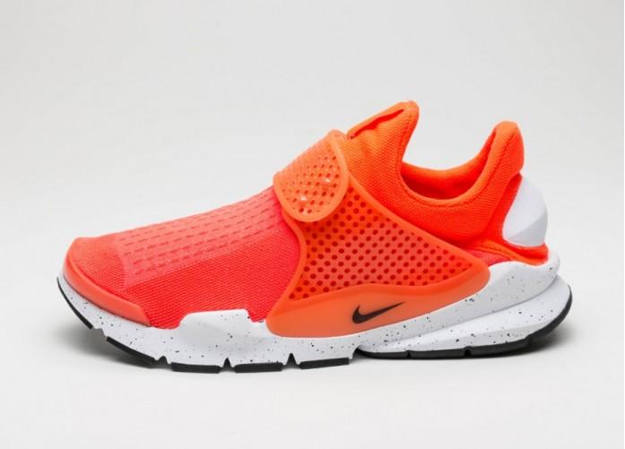 Мужские кроссовки Nike Sock Dart SE (Total Crimson / Black - White) | Интернет-магазин Sole
