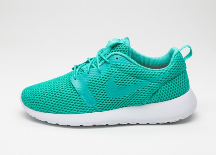 Мужские кроссовки Nike Roshe One Hyp BR (Clear Jade / Clear Jade - White) | Интернет-магазин Sole