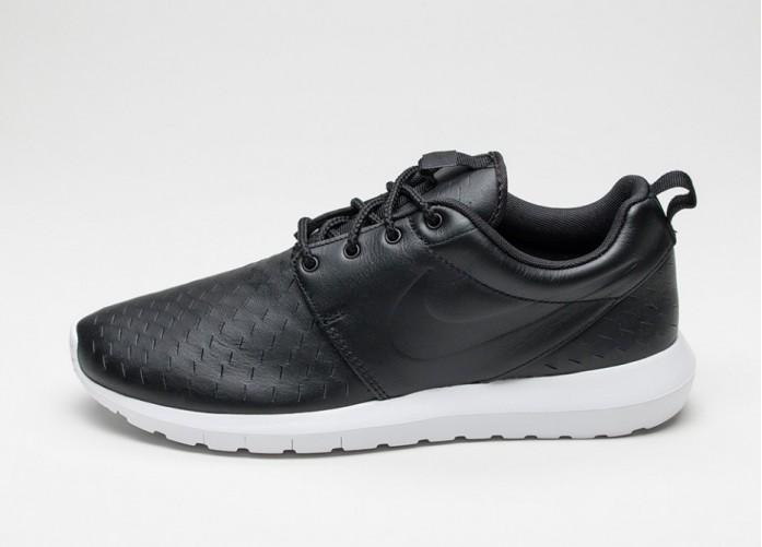 Мужские кроссовки Nike Roshe NM LSR (Black / Black - White) | Интернет-магазин Sole