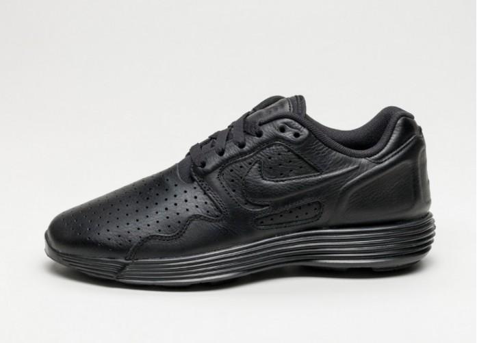 Мужские кроссовки Nike Lunar Flow LSR PRM (Black / Black - Black) | Интернет-магазин Sole