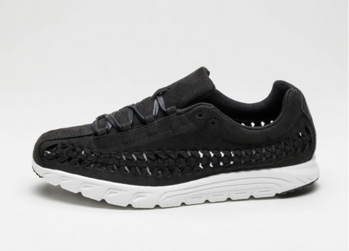 Мужские кроссовки Nike Mayfly Woven (Black / Black - Summit White) | Интернет-магазин Sole