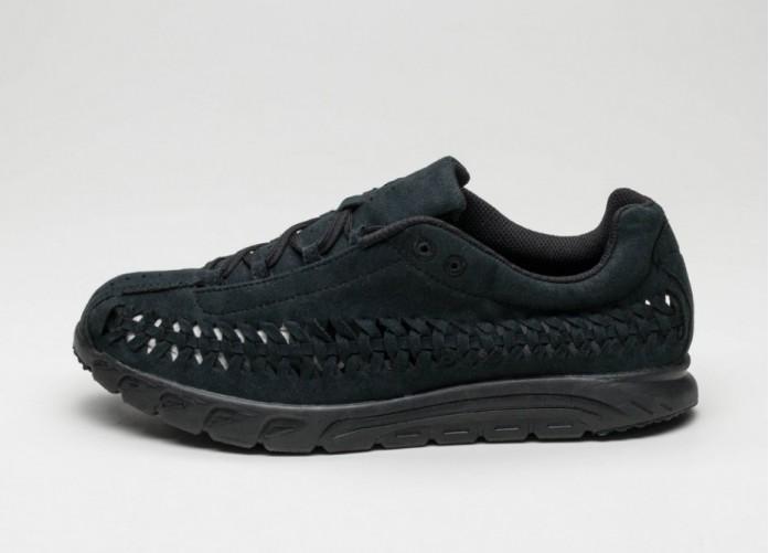 Мужские кроссовки Nike Mayfly Woven (Black / Black) | Интернет-магазин Sole