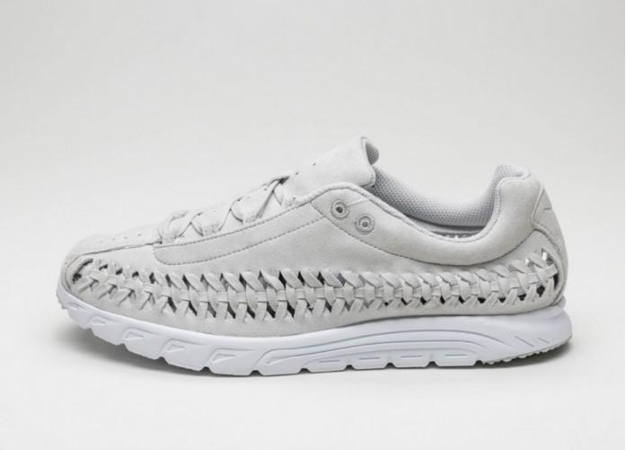 Мужские кроссовки Nike Mayfly Woven (Neutral Grey / Neutral Grey - White) | Интернет-магазин Sole