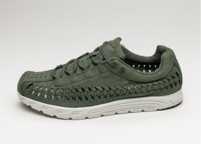 Мужские кроссовки Nike Mayfly Woven (Medium Olive / Light Bone - Black) | Интернет-магазин Sole
