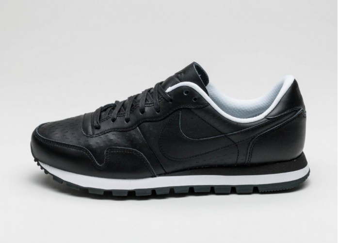 Мужские кроссовки Nike Air Pegasus 83 LSR Premium (Black / Black- White - Anthracite) | Интернет-магазин Sole