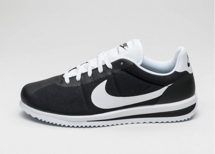 Мужские кроссовки Nike Cortez Ultra (Black / White) | Интернет-магазин Sole