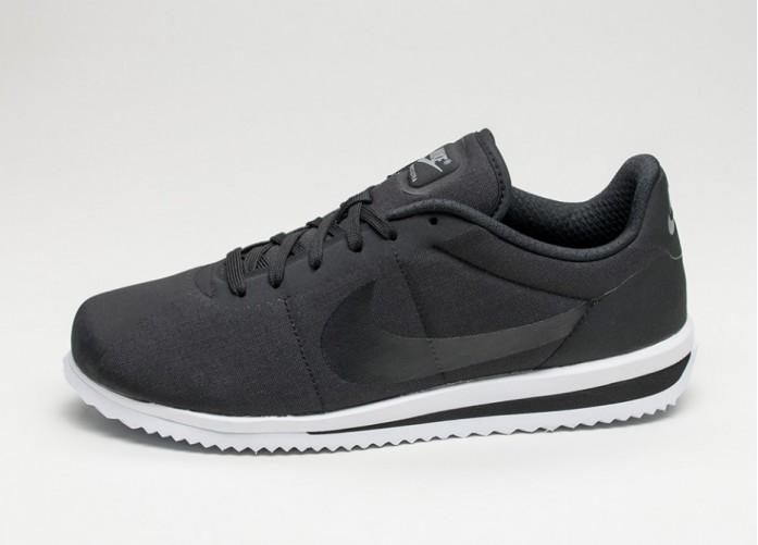 Мужские кроссовки Nike Cortez Ultra (Black / Black - Cool Grey - White) | Интернет-магазин Sole