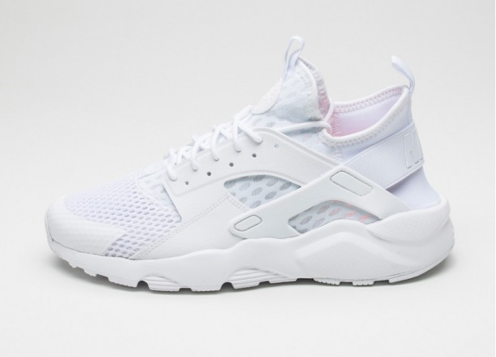 Мужские кроссовки Nike Air Huarache Run Ultra BR (White / White) | Интернет-магазин Sole