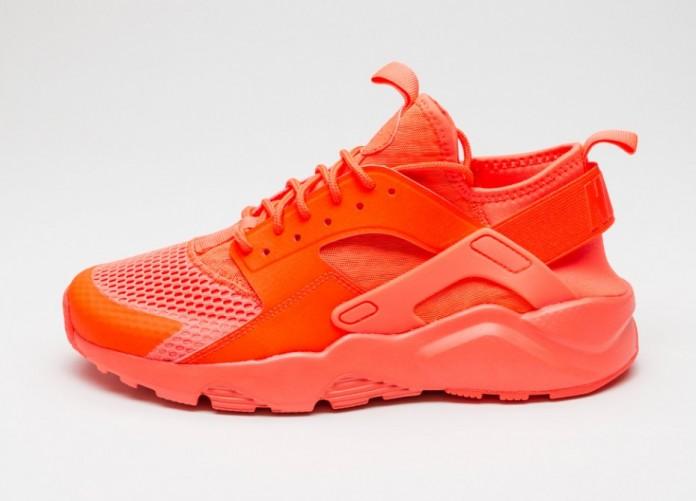 Мужские кроссовки Nike Air Huarache Run Ultra BR (Total Crimson / Total Crimson - Total Crimson) | Интернет-магазин Sole