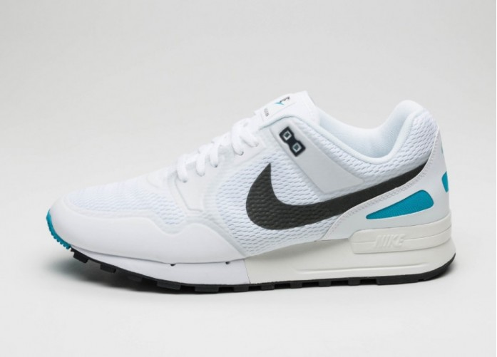 Мужские кроссовки Nike Air Pegasus 89 NS (White / Anthracite - Blue Lagoon) | Интернет-магазин Sole