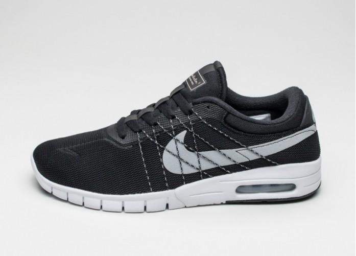Мужские кроссовки Nike SB Koston Max (Black / Wolf Grey - White) | Интернет-магазин Sole