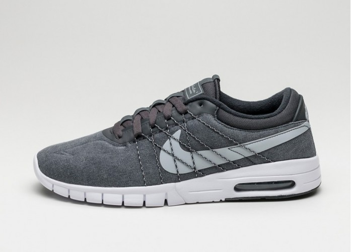 Мужские кроссовки Nike SB Koston Max (Anthracite / Wolf Grey - White - Back) | Интернет-магазин Sole