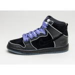 Мужские кроссовки Nike SB Dunk High Elite *Purple Box* (Black / Black - White - Purple Haze), фото 1 | Интернет-магазин Sole