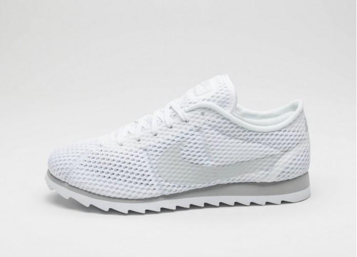 Мужские кроссовки Nike Wmns Cortez Ultra BR (White / Pure Platinum - Wolf Grey)   Интернет-магазин Sole