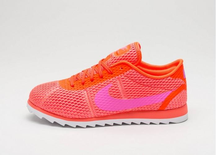Мужские кроссовки Nike Wmns Cortez Ultra BR (Total Crimson / Pink Blast - White) | Интернет-магазин Sole