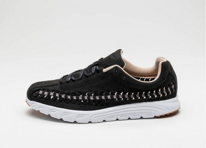 Мужские кроссовки Nike Wmns Mayfly Woven (Black / Dark Grey - White - Elm) | Интернет-магазин Sole